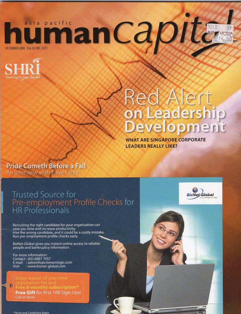 Human Capital Magazine, Anne Cossé