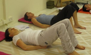 Acuyoga exercises to release neck tension