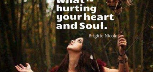 Letting go what hurts